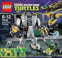 LEGO Ninja Turtles - 79105 Baxters Roboter mit Raphael und Donatello - Neu & OVP