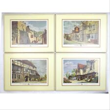 New listing Pimpernel Placemats Old English Inns Set Of 4 (Listing 1)