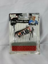 Ryan Sheckler Plan B Tech Deck 96mm. Fingerboard with Grind Ledge New Very Rare