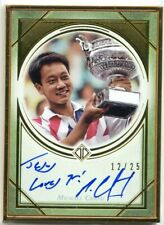 2020 Topps Transcendent Tennis Hall of Fame MICHAEL CHANG Gold Framed Auto #/25
