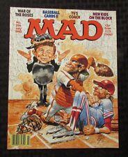 1990 MAD MAGAZINE #296 NM Baseball Parody
