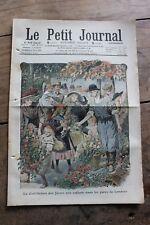 Petit journal dibujada Nº938 1908 Flores Parques de Londres Aves de Paraíso