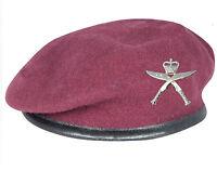 2 RGR Royal Gurkha Rifles AIRBORNE Maroon Beret & Cap Badge 16 AIR ASSAULT Para