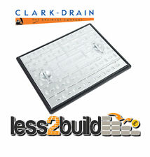 600x450mm Galv Clark Drain 2.5 Tonne Manhole Drain Cover Access Inspection PC6AG