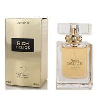 RICH DELICES * Johan B. 2.8 oz / 85 ml Eau de Parfum (EDP) Women Perfumes Spray