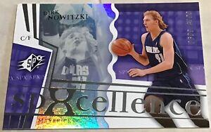 2003-04 DIRK NOWITZKI UPPER DECK SPX SPXCELLENCE CARD #92 MAVERICKS #0699/3999