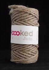 Hoooked Natural Jute Cinnamon Taupe - Crochet Knitting Yarn 100% Natural Jute