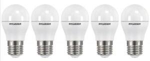 5x Sylvania ToLEDo Ball Dimmable E27 V3 5.6W Homelight LED 470lm Energy Class A+