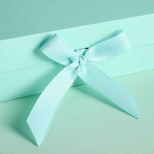 Large Gift Box Gift Wrapped Box W/ Ribbon Magnetic Boxes Christmas Gift Box