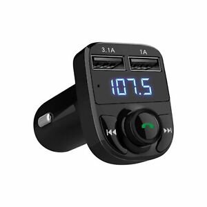 Handsfree Call Car Charger, Wireless Bluetooth FM Transmitter Radio Receiver