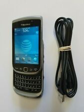 4G Blackberry Torch 9810 Keyboard Slider Flip Cell Phone For At&t Cricket H20