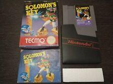 Solomon's Key Pal B Nintendo Nes Completo