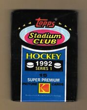 1992-93  STADIUM CLUB HOCKEY , SERIES 1  , 1 PACK      ( SEALED )