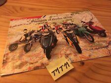 Honda gamme scooter et petites motos catalog prospectus catalogue publicité