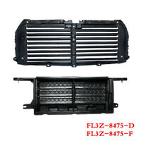 Fit For FORD F-150 2015-17 Front Upper+Lower Radiator Grille Air Shutter Control