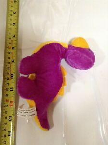 Huggables Purple Dinosaur Plush | Soft Toy