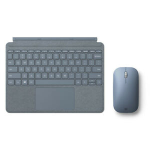 Microsoft Surface Go Signature Type Cover Ice Blue + Surface Mobile Mouse Ice Bl
