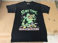 New listing VERY RARE 1984 Slime Time Ghostbusters Columbia Pictures Promo T-Shirt size M