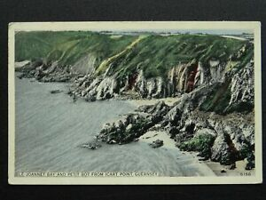 Channel Island GUERNSEY Le Joannet Bay & Bot from Icart Point c1964 Postcard