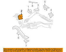 GM OEM Engine Motor & Transmission-Mounting Bracket Right 15725994