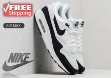 @FINAL SALE@ - NIKE AIR MAX 1'S - SUMMIT WHITE AND BLACK - SIZE UK 5