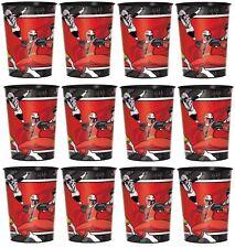 Power Rangers Ninja Steel Lot of 12 16oz Plastic Cup ~Party Favor Supplies