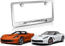 C7 Stingray Chrome License Plate Frame For 2014-2016 Corvette New Free Shipping