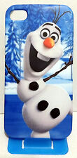 Frozen Snowman Olaf Full Print Wrapped Around Back Hard Case For iPhone 4 4S