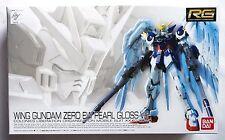 BANDAI RG 1/144 Wing Gundam Zero EW pearl gross Gunpla EXPO limited model kit