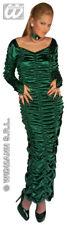 Neues AngebotDamen Grün Midnight Vixen Verführerin Halloween Horror Kostüm Größe 10-14