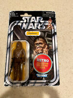 """Star Wars Retro Collection Chewbacca 3.75"""" Action Figure New on Card"""