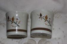 2 Egg Cups Royal Doulton wild cherry LS1038 paire de coquetiers