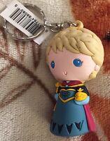 Elsa Coronation Figural 3D Keychain New Disney Rare
