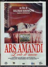 DVD Ars Amandi L'Art de Aimer avec M.Placide M.Girotti Nouveau 1983