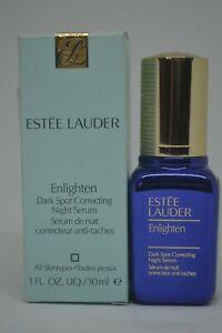 Estee Lauder Enlighten Dark Spot Correcting Night Serum BNIB 1fl.oz./30ml