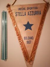 Gagliardetto STELLA AZZURRA BOLZANO CALCIO football MATCHWORN FUSSBALL