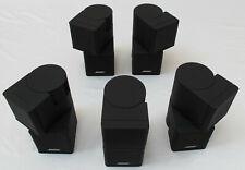 BOSE Jewel-Cube Doppelcube Cubes 5 Stück Lautsprecher Lifestyle Acoust. Schwarz