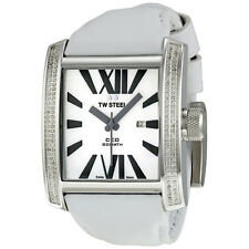 TW Steel CEO Goliath 37 mm White Diamond Unisex Watch CE3015