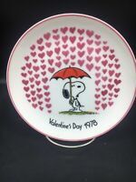 Snoopy Valentine's Day 1978-Peanuts Schmid  collector plate by Schultz ~
