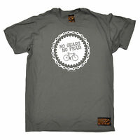No Gears No Fear Cycling T-SHIRT tee jersey funny birthday gift present for him