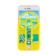Étuis, housses et coques jaune mat en silicone, caoutchouc, gel pour téléphone mobile et assistant personnel (PDA)