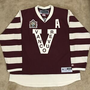 Ryan Kesler Vancouver Millionaires Canucks 2014 Heritage Classic NHL Jersey XXL