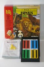 Educational Insights 1989 I.Q. Games Wild Animals