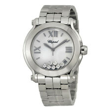 Chopard Happy Sport Stainless Steel Ladies Watch 278477-3001