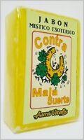 Contra la Mala Suerte Jabón Esotérico, Against The Bad Luck Esoteric Soap 125 gr