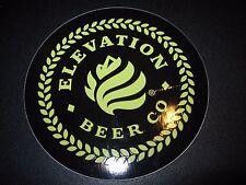 ELEVATION BEER CO Apis IV Oil Man Black STICKER decal craft beer brewery brewing