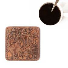 Hangzhou map coaster One piece  wooden coaster Multiple city IDEAL GIFTS