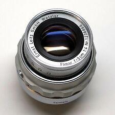 Leica Leitz GmbH Wetzlar Elmar 9cm F4 90mm M Mount Lens