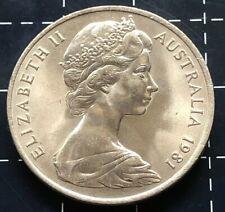 1981 AUSTRALIAN 20 CENT COIN ( EF )