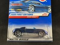 Hot Wheels 99 2000 First Editions **MX48 Turbo** Collector #080 Max Steel**New Listing!